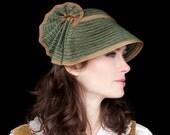 Straw Hat - Cap Vintage Olive