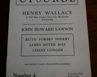 Vintage Magazine, Upsurge, Tacoma, 253. Politics and Poetry