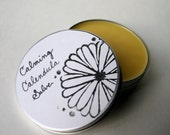 Calming Calendula Salve - for Gardeners and Farmers Hands, Elbows, and Other Dry Skin / With Lavender and Tea Tree Oil / Organic / 4 oz