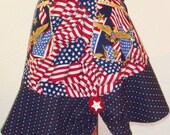 Women's Patriotic Half apron