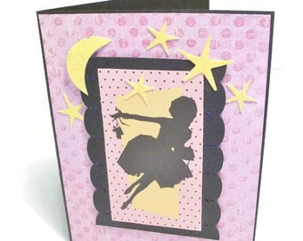 Handcrafted Greeting Card, Congratulations, Encouragement