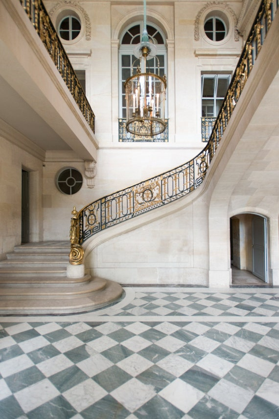 Versailles France Photography Staircase At Le By