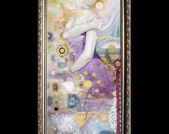 SUBSTANCE (body)- Beautiful Custom Framed Giclee on canvas