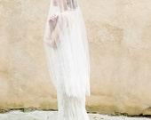 Bridal Veil, Lace Veil, Circle Veil, Wedding Veil, Ivory, Lace - Style 306