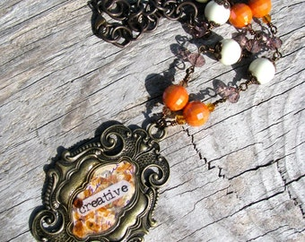 I Am Creative.. Artisan Necklace