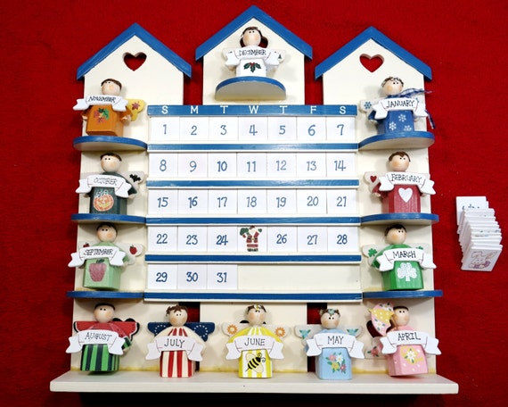 Wooden Perpetual Wall Calendar | Search Results | Calendar 2015