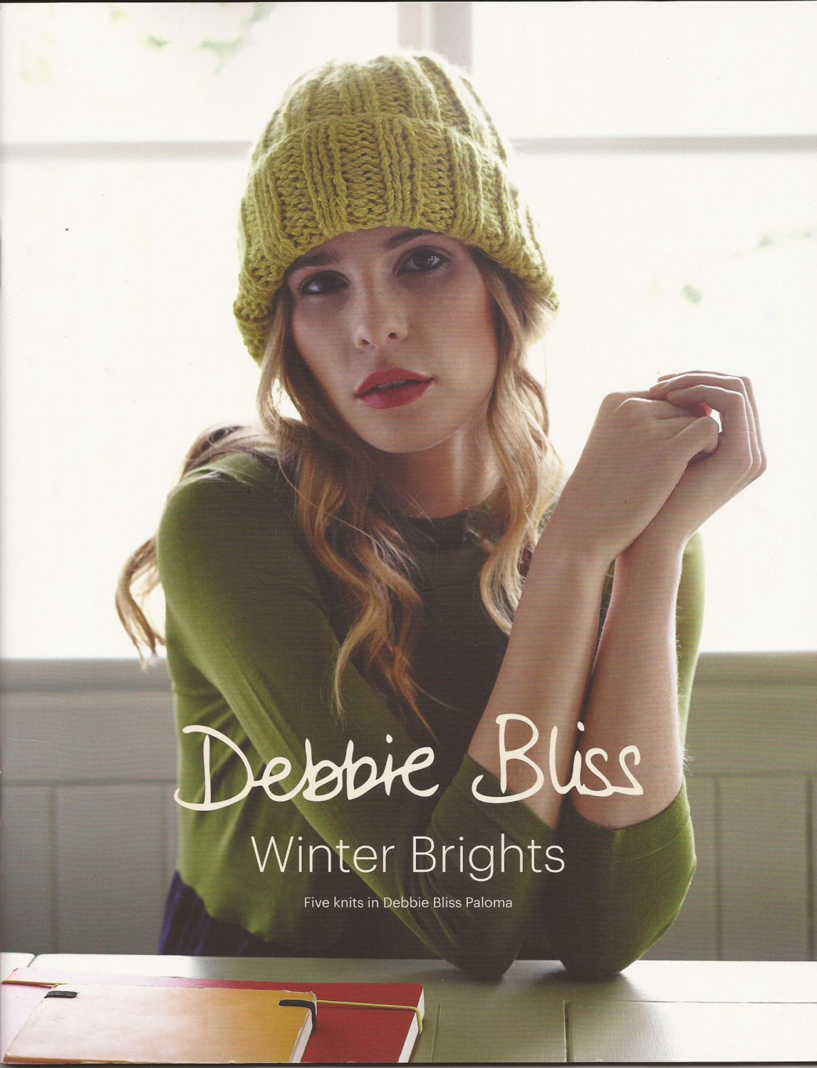 debbie bliss knitting pattern book winter brights 5 knits in