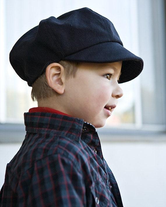 casquette gavroche bio enfant pour mariage casquette par purepixie. Black Bedroom Furniture Sets. Home Design Ideas