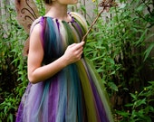 Forest Fairy TuTu Dress- Flower Girl, Costume, Dress-up