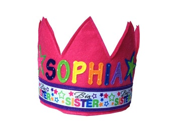 Big Sister Crown - Personalized / Custom Version