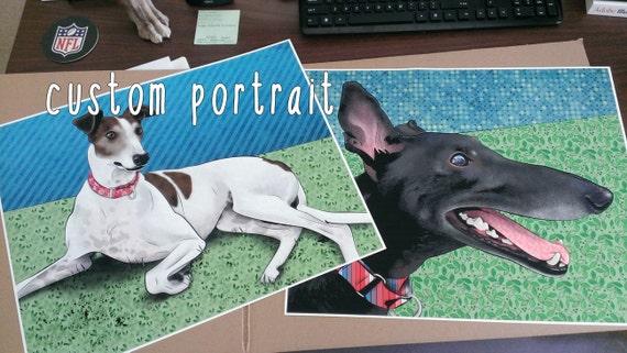 "16x20"" Custom Pop Art Portrait of Your Pet"