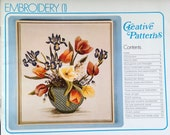 1975 EMBROIDERY 1 Creative PATTERNS CRAFT Book