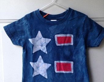 Kids Fourth of July Shirt, Boys Fourth of July Shirt, Girls Fourth of July Shirt, Patriotic Kids Shirt, American Flag Shirt (2T)