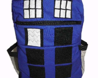 Doctor Who TARDIS Backpack *Made to order*