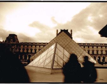 Paris (Louvre) silver gelatin photograph