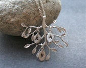 Tree of Life Necklace, Personalized family Necklace, Initial Necklace, Love Necklace, Mother Necklace, Silver Tree Necklace, Sterling Silver