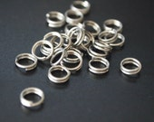 6mm Stainless Steel Split Rings | Free US Shipping | Choose Your Quantity