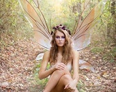 GIANT Kira Fairy Wings in your Custom Color Pattern, as seen in the Victoria's Secret Fashion Show