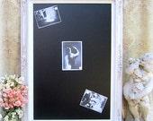"""WEDDING CHALKBOARDS For Sale LARGE 44""""x32"""" Wedding Chalkboard Escort Card Holder Wedding Seating Chart Menu Board White Wedding Menu Board"""