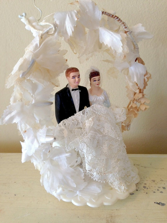 vintage wedding cake toppers bride and groom vintage cake topper wedding cake topper and groom 8307