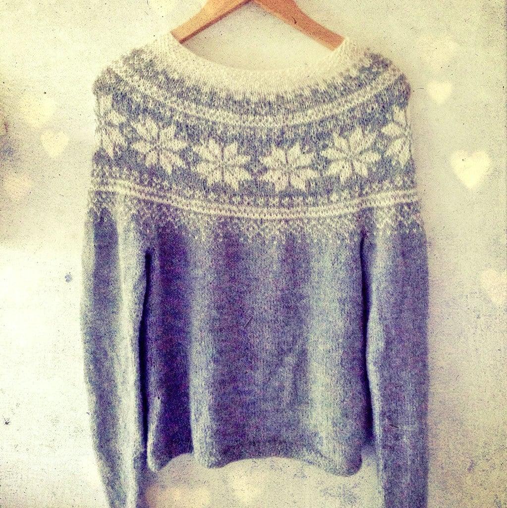 Knitting Pattern Beautiful Norwegian Sweater Instant