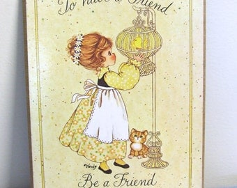 1970s Friends Wall Hanging - Wendy USA