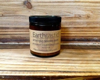 Detoxifying Cleansing Grains - All natural. Vegan. Acne treatment. Activated Charcoal.