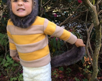 Halloween Costume Wild Things CAROL Kids Costume for boys, girls, toddler, children Where the Wild Things Are