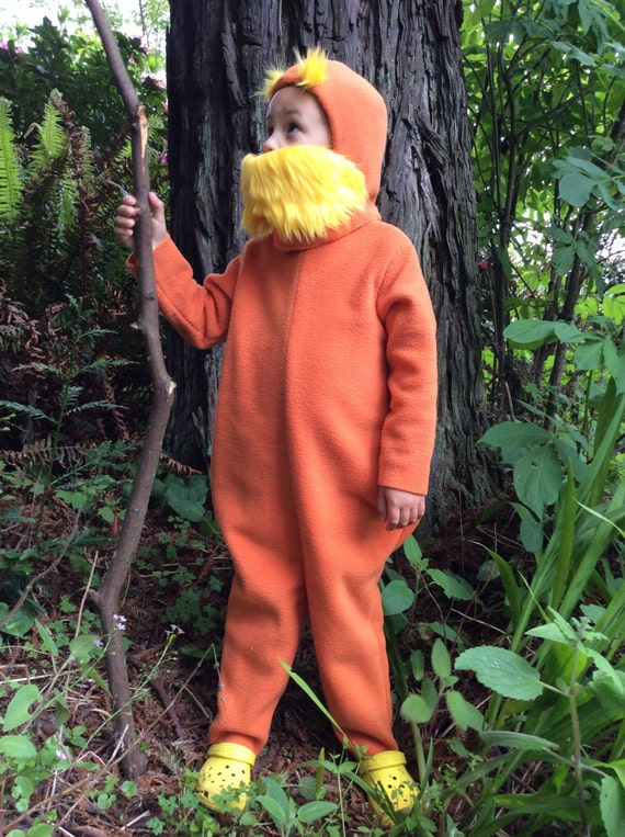 LORAX Halloween Costume Dr. Seuss Kids Costume for boys, girls, toddler, children