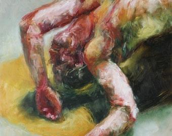 Husk, Original Oil Painting