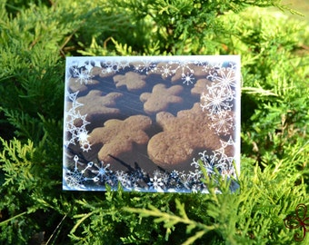 Gingerbread (Photo) Greeting Card