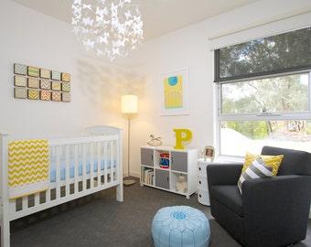geometric nursery art, choose 15 art prints, gender neutral baby, children wall decor, geometric prints, nursery art, redtilestudio