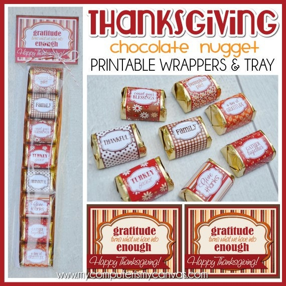printable hershey nugget wrappers | just b.CAUSE