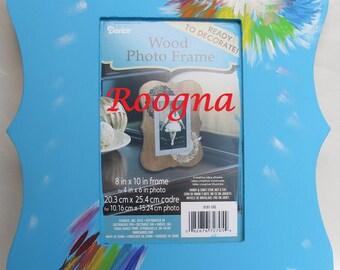 Rainbow Dash Sonic Rainbooml My Little Pony MLP FiM Wood Photo Frame