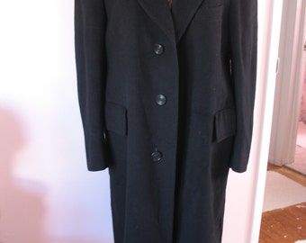 Vintage Man's Cashmere Over Coat, Boyd Store-SALE