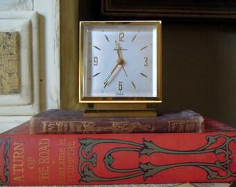 Vintage Seth Thomas Alarm Clock / Original Directions / Office Decor / Made in Germany
