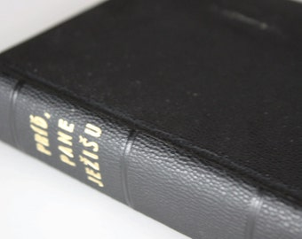 Vintage Slovic Bible from 1972 - Rare Vintage Holy Bible