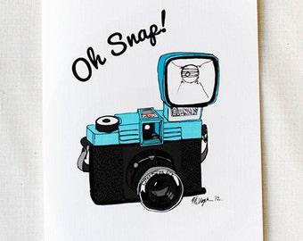 Oh Snap!- Diana Camera Card