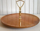 Vintage Mid Century Modern Serving Tray