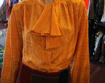 Vintage Pierre Cardin Marigold Blouse