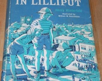 Castaways in Lilliput by Henry Winterfeld, hardback