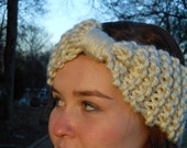 Knit Bow Ear Warmer - Choose your color
