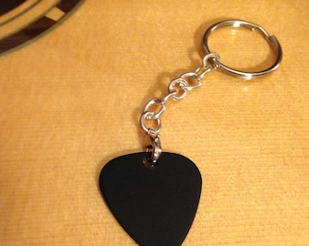 Guitar Pick Keychain - Removable Pick, Perfect Gift For Guitarists