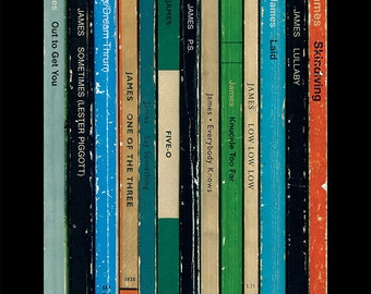 James 'Laid' Album As Penguin Books Tim Booth Poster Print Literary Print