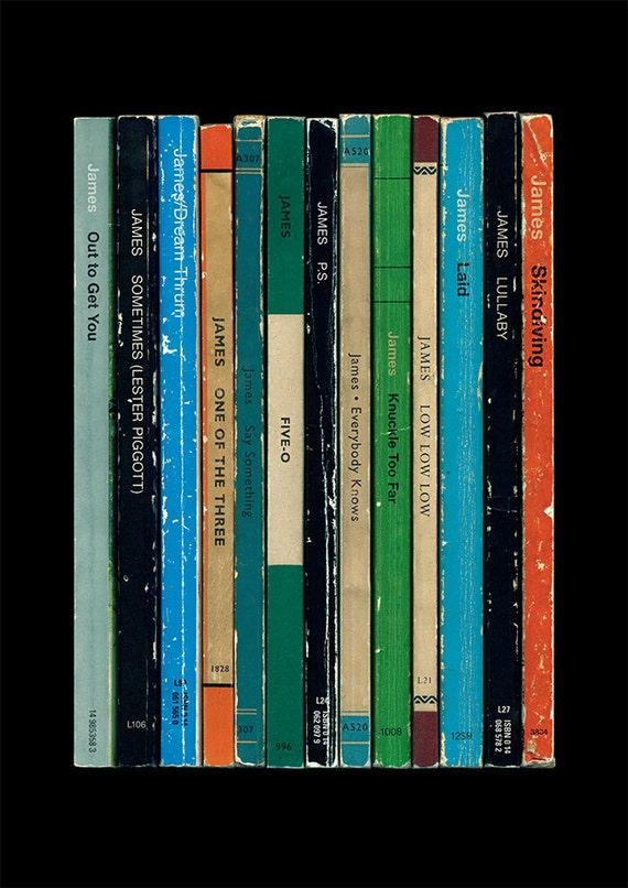 James Laid Album As Penguin Books Tim Booth Poster