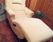 Mid Century Contour Chair Lounge Recliner Heat Massaging Reclining on Etsy
