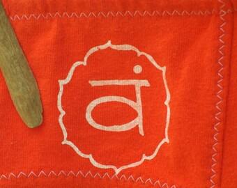 Sacral Chakra Orange Boy-Cut Underwear - Recycled Cotton - Made to Order