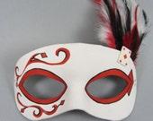 Deck of Cards Diamond Masquerade Mask