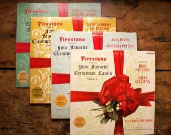 Vintage -Firestone Presents- Christmas Albums