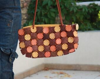 Gorgeous Vintage Coconut Purse - Brand: Almaplena - Handbag